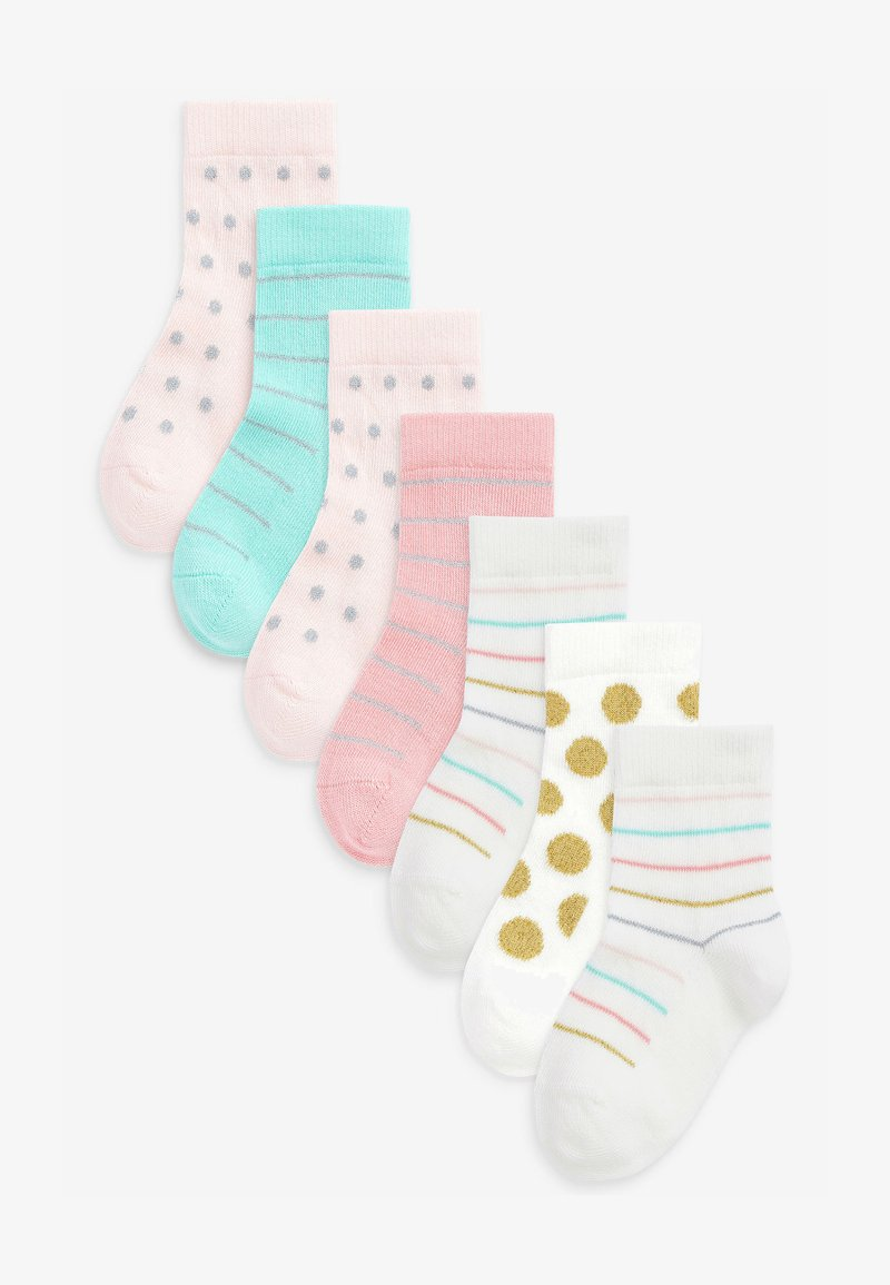 Next - 7 PACK PRETTY SPOT - Socks - multi-coloured