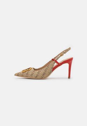 ALENY - Classic heels - beige/light brown