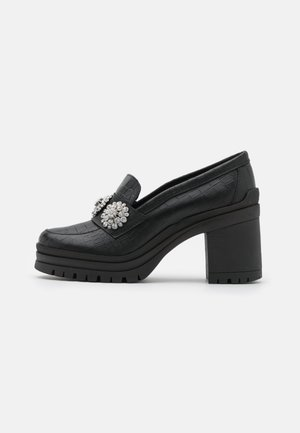 YASRENNA OXFORD HEELS - Platoo-avokkaat - black