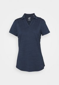 Puma Golf - CLOUDSPUN FREE - Print T-shirt - navy blazer heather - 0