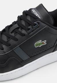 Lacoste - T-CLIP - Sneakers - black/dark grey - 5
