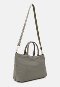 River Island - SET - Tote bag - khaki dark - 1