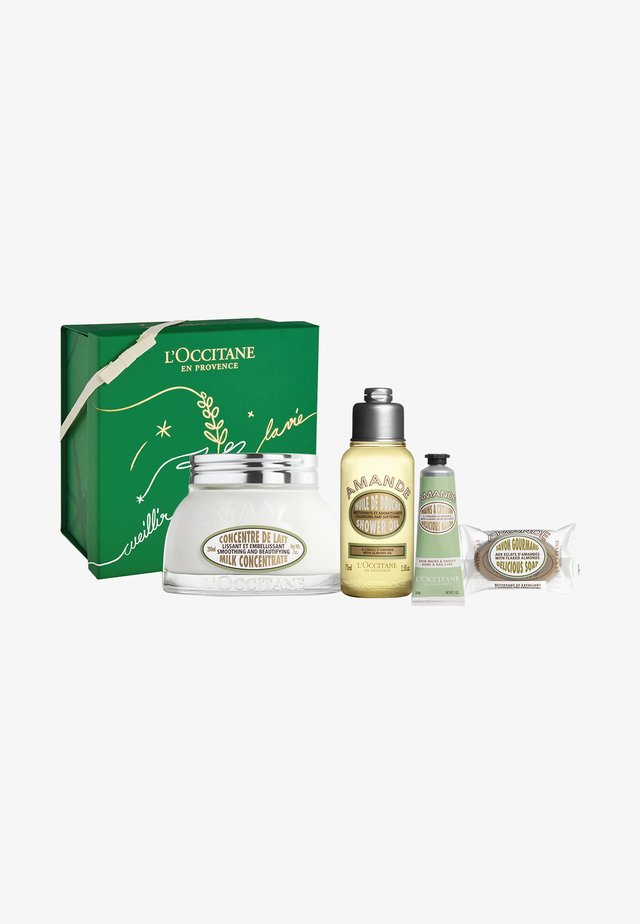 BODY CARE GIFT SET - Bath and body set - almond