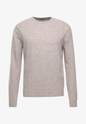 BASIC CREWNECK - Jersey de punto - beige
