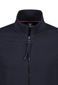 LERROS - Zip-up hoodie - navy - 2