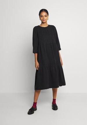 NMJESSIE DRESS - Kjole - black denim