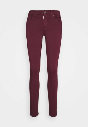 NEW LUZ - Jeans Skinny - aubergine