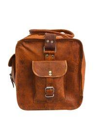 Gusti Leder - Weekend bag - brown - 4