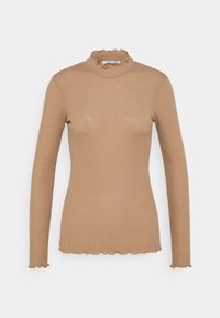 NELLI - Long sleeved top - camel brown