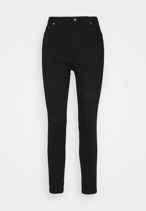 JADE CROPPED LENGHT - Slim fit jeans - black