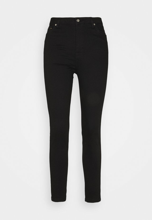 JADE CROPPED LENGHT - Slim fit jeans - black