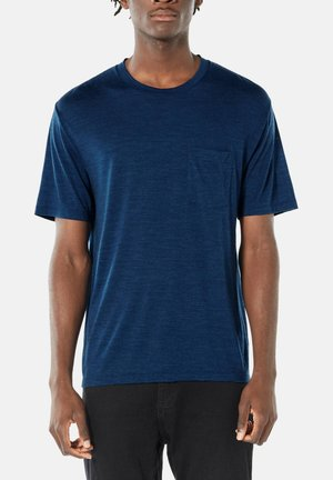 T-shirt basic - dunkelblau (295)
