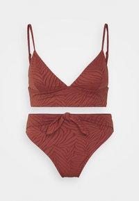 Roxy - WILDBABE SET - Bikini - marsala - 0