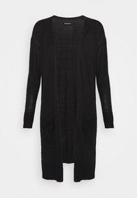 BASIC- long cardigan - Cardigan - black