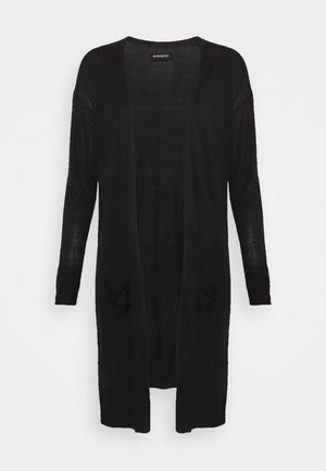 BASIC- long cardigan - Kardigan - black