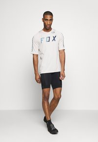 Fox Racing - DEFEND WURD - T-Shirt print - navy - 1