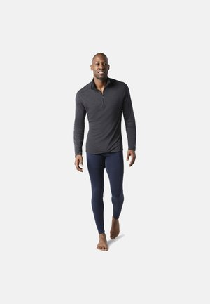 MIDWEIGHT 250 BASELAYER 1/4 ZIP - Long sleeved top - charcoal heather