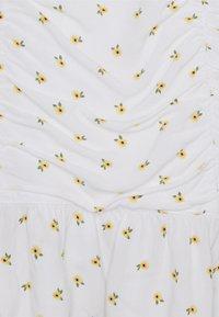 Hollister Co. - CINCH SKIRT - Mini skirts  - white - 2