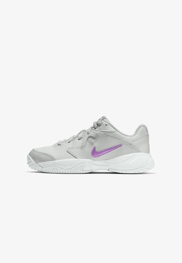 COURT LITE 2 - Chaussures de tennis toutes surfaces - photon dust/white/fuchsia glow
