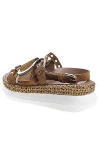 MJUS - Platform sandals - brown - 3