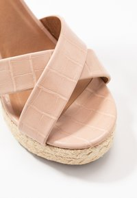 ONLY SHOES - ONLAMELIA WRAP  - High heeled sandals - nude - 2