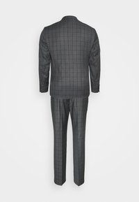 Isaac Dewhirst - CHECK SUIT - Oblek - grey - 1