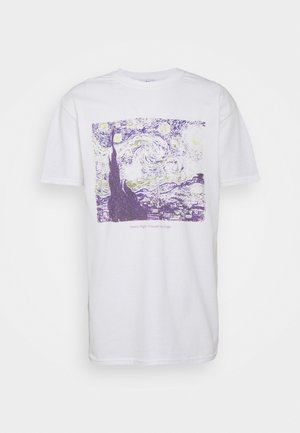 VINCENT VAN GOGH ART PRINT TEE - T-shirt imprimé - white