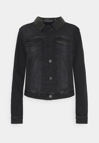 comma - LANGARM - Denim jacket - black - 0