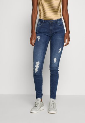 NMKIMMY NW ANKLE  - Jeans Skinny Fit - medium blue denim