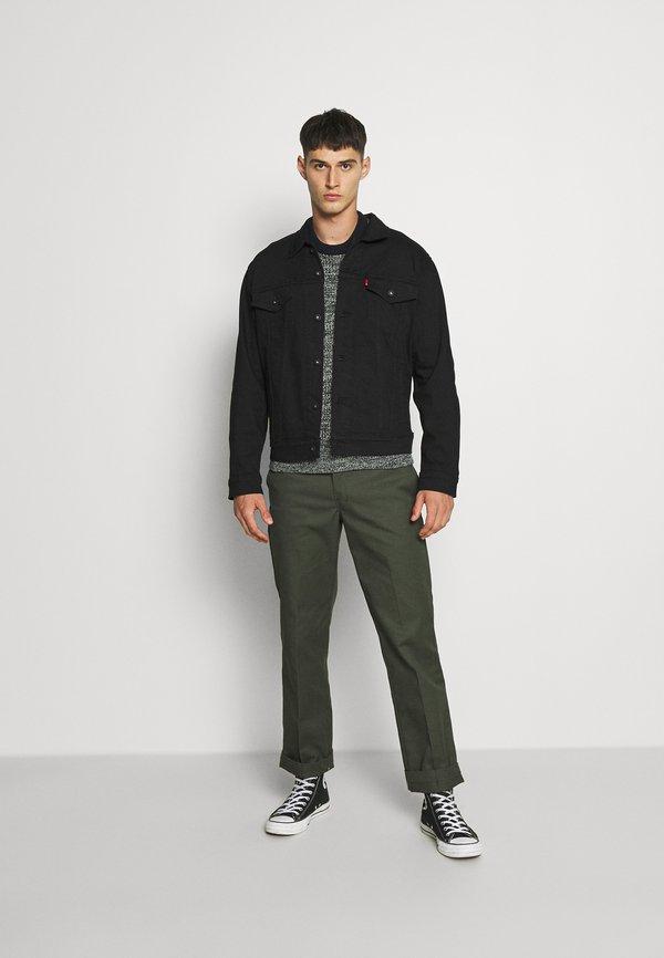 Levi's® THE TRUCKER JACKET - Kurtka jeansowa - blacks/czarny denim Odzież Męska USPJ