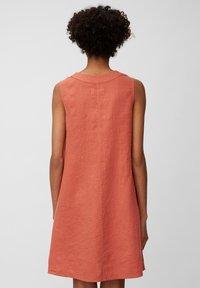 Marc O'Polo - DRESS - Sukienka letnia - burnt orange - 2
