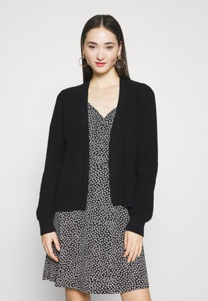 VIRIL OPEN CARDIGAN - Kardigan - black