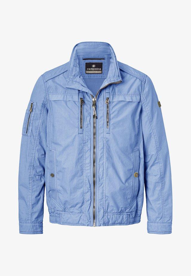 BYRON - Summer jacket - blue