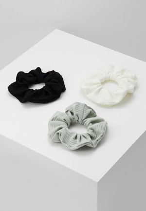 SCRUNCHIE 3 PACK - Hair styling accessory - green