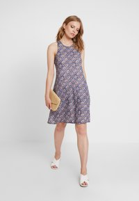 GAP - LINPLY - Jersey dress - blue - 2