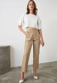 Trendyol - Trousers - brown - 3