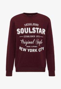 SOULSTAR - Sweatshirt - burgundy - 4