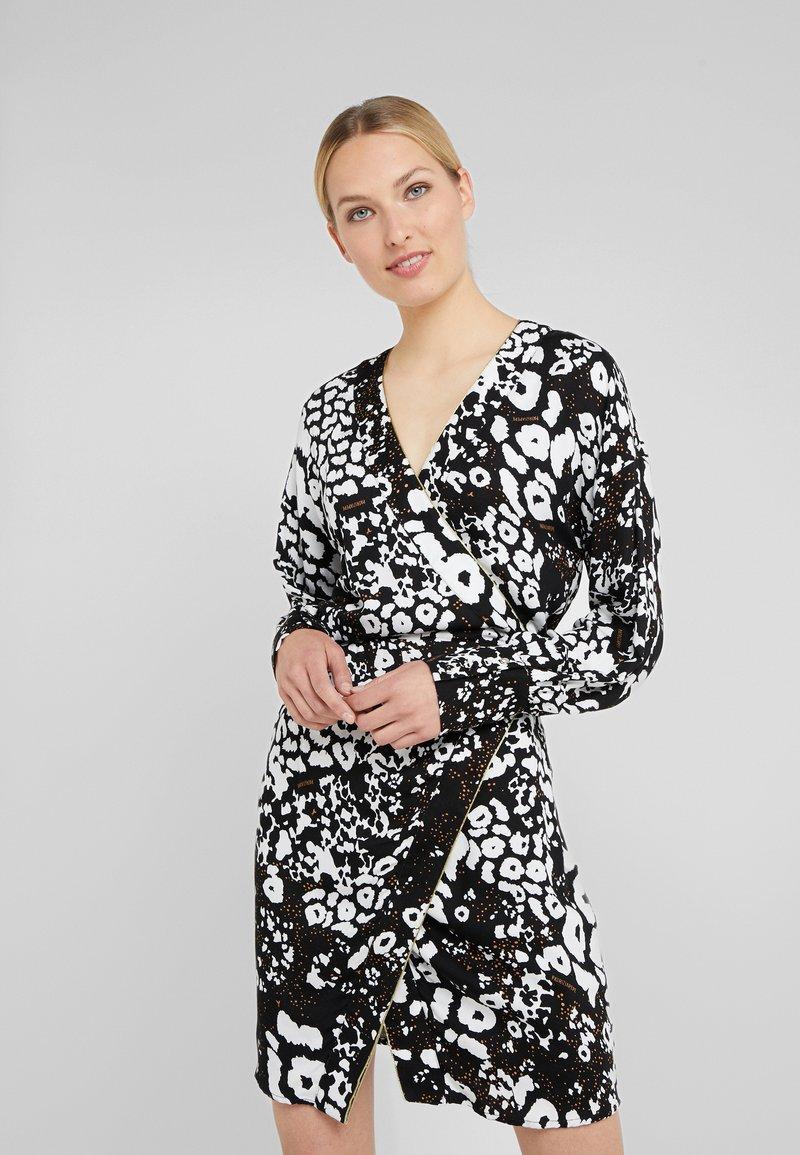 Patrizia Pepe - ABITO DRESS - Day dress - black