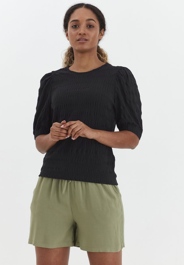 BYSANNY - T-shirts print - black