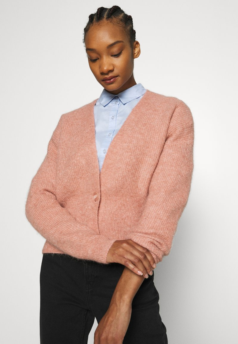 Lindex - SHELLY - Cardigan - light pink