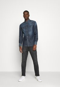 Replay - Shirt - dark blue denim - 1