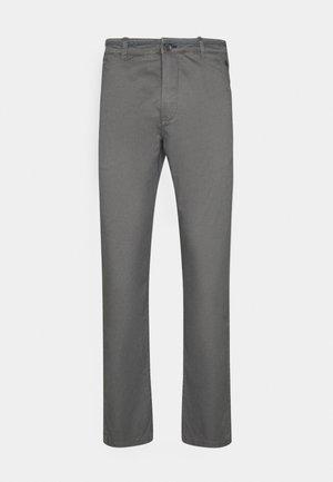 SLIM BASICO - Chinosy - dark grey