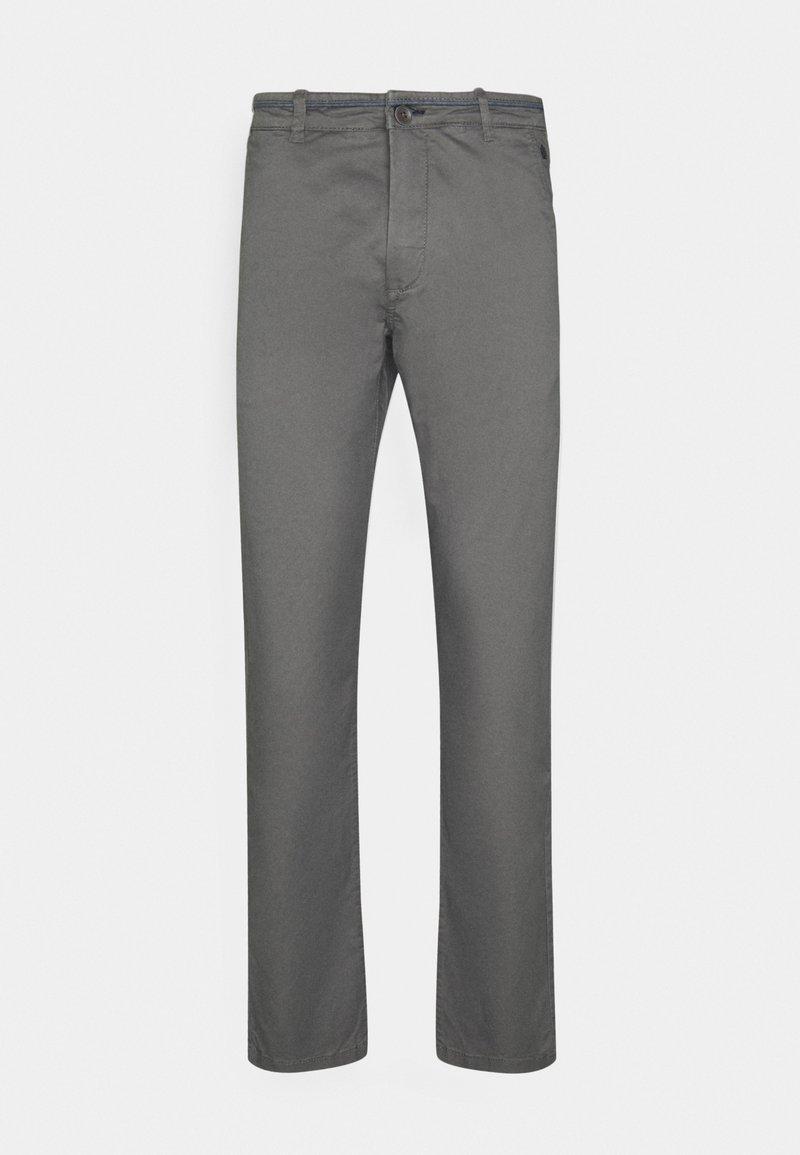 Springfield - SLIM BASICO - Chino kalhoty - dark grey