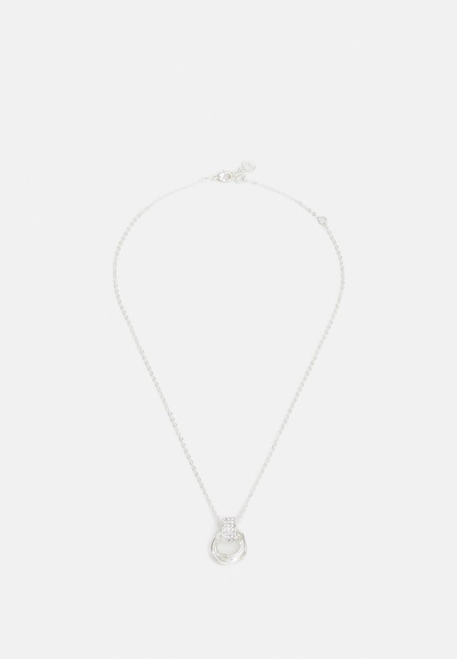 TROPEZ PENDANT NECK - Halsband - silver-coloured