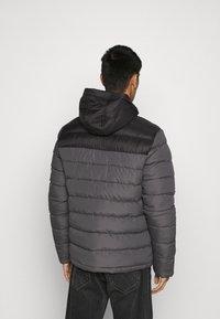 Brave Soul - INVERNESS - Winter jacket - black/grey - 3