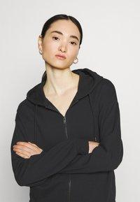 Even&Odd - Zip-up sweatshirt - black - 4