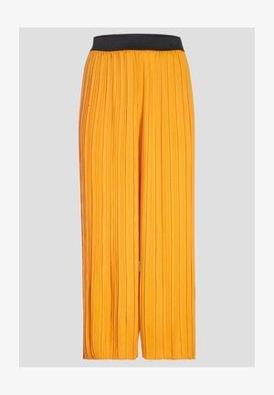 Trousers - jaune fonce