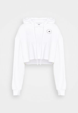 HOODIE - Long sleeved top - white