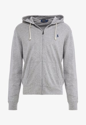 TERRY - Zip-up hoodie - andover heather