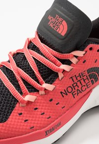 The North Face - WOMEN'S ULTRA ENDURANCE XF - Hiking shoes - asphalt grey/cayenne red - 5
